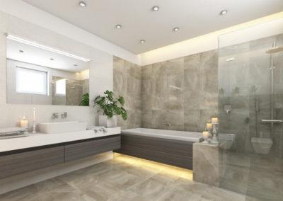 Urbavenir Salle-de-bain-moderne-400x284 Cuisine et Salle de bain
