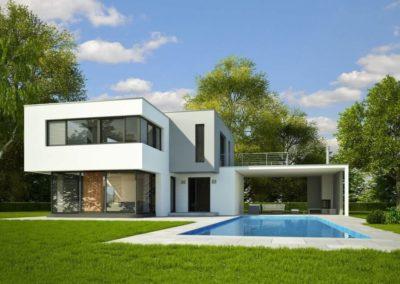 Urbavenir Maison_Toiture_Terasse_Trabeco-400x284 Construire sa maison sur-mesure