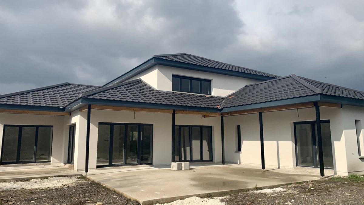 Urbavenir Toit La maison aux 16 pans - Lunéville #1 actualites Blog chantiers Maison d'architecte Maison familiale Maison sur-mesure