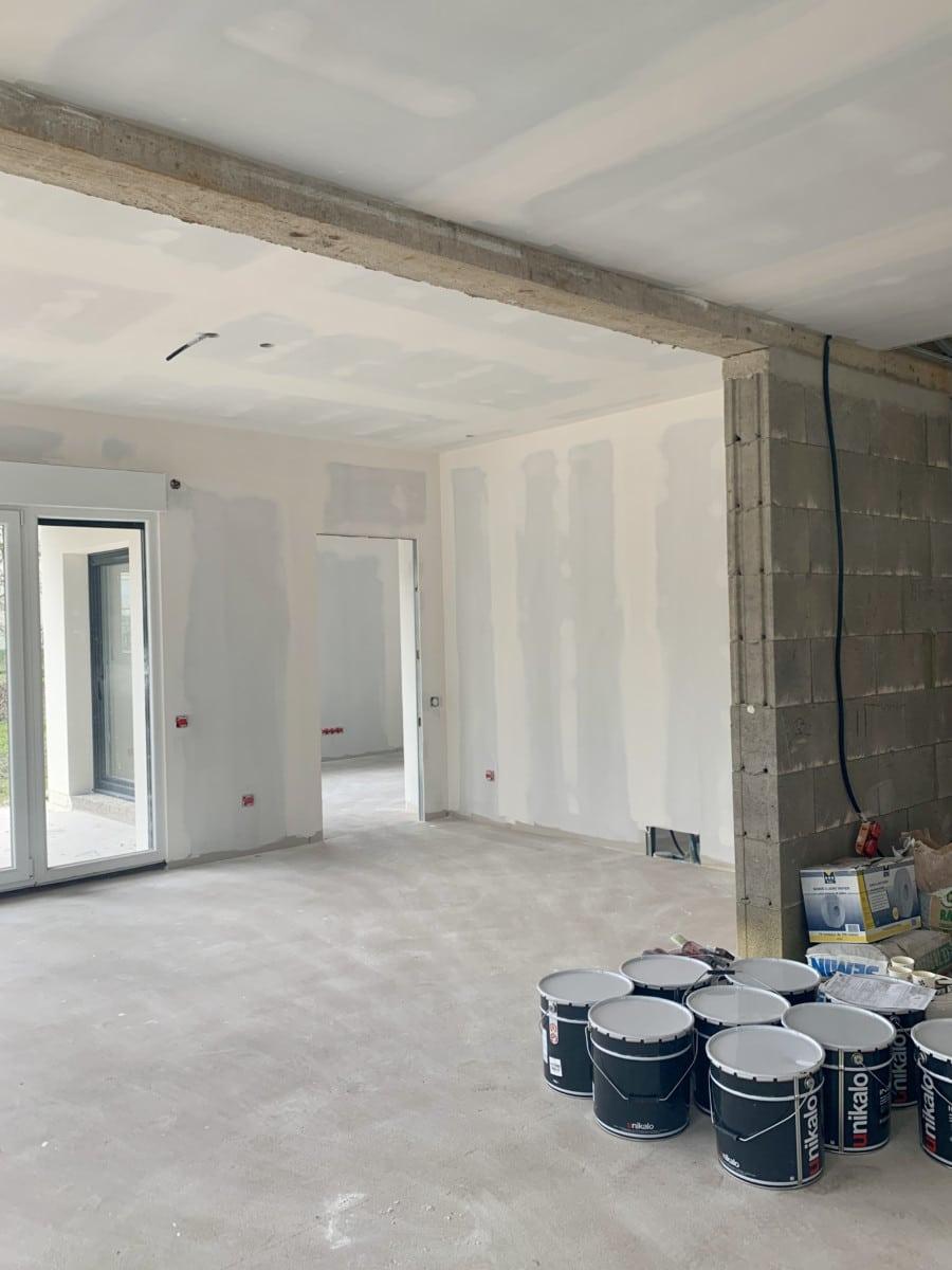 Urbavenir Cheminee-1 La maison aux 16 pans - Lunéville #2 actualites Blog chantiers Maison d'architecte Maison familiale Maison sur-mesure