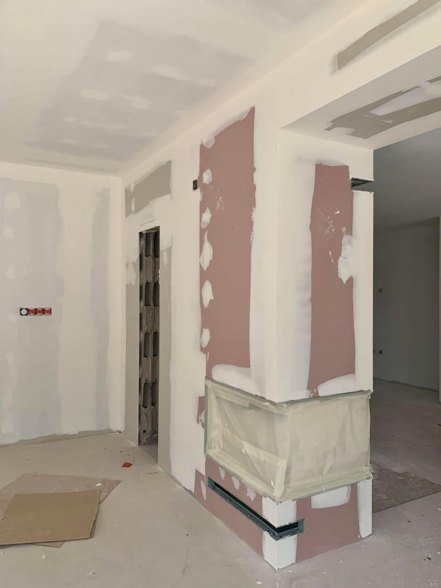 Urbavenir Cheminee-2 La maison aux 16 pans - Lunéville #2 actualites Blog chantiers Maison d'architecte Maison familiale Maison sur-mesure