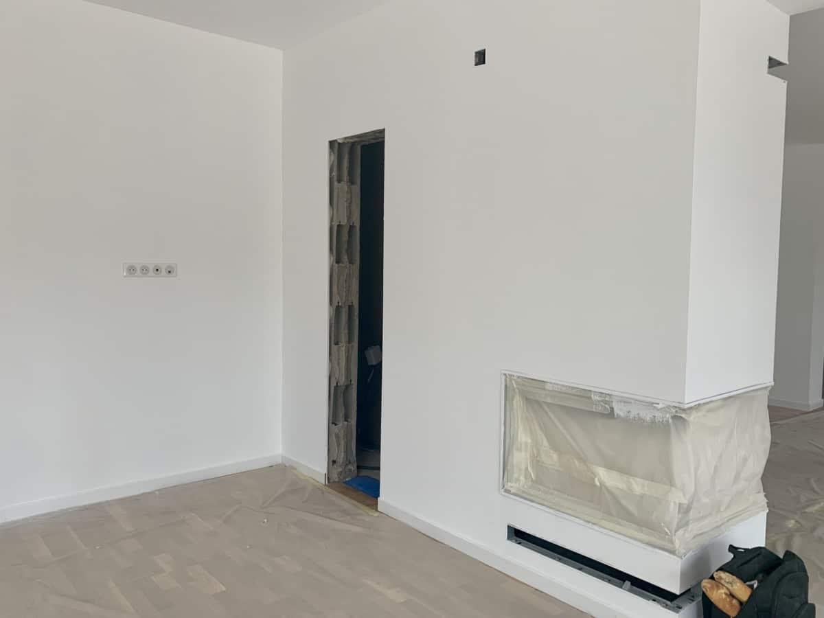 Urbavenir Cheminee-3 La maison aux 16 pans - Lunéville #2 actualites Blog chantiers Maison d'architecte Maison familiale Maison sur-mesure