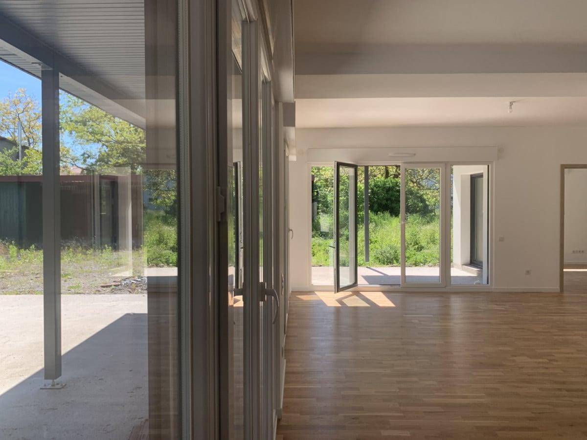 Urbavenir Salon La maison aux 16 pans - Lunéville #2 actualites Blog chantiers Maison d'architecte Maison familiale Maison sur-mesure